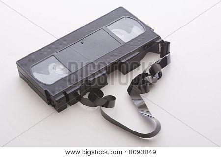 Broken Video Cassette