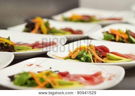 Gourmet Food Plates