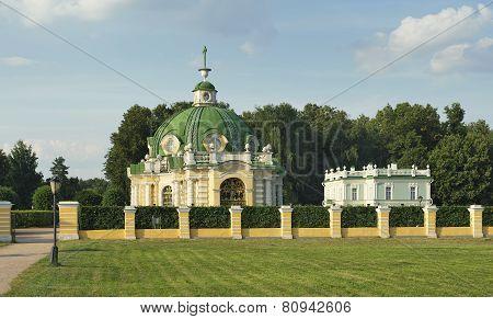 Kuskovo, Pavilion Grotto and Italian house