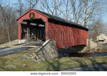 Pool Forge Covered Bridge