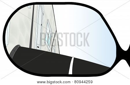 Village Street Wing Mirror