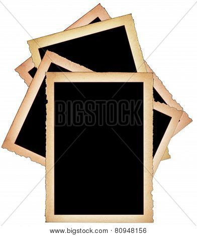 Stack Of Paper Frames