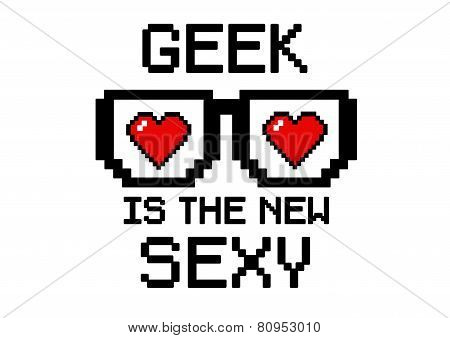 Geek Is sexy heart