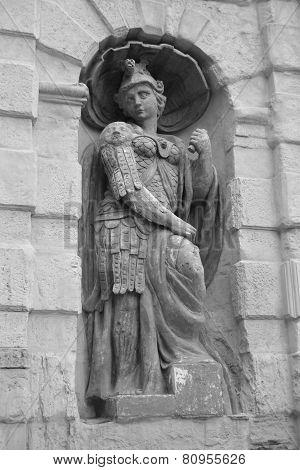 Old Sculpture.