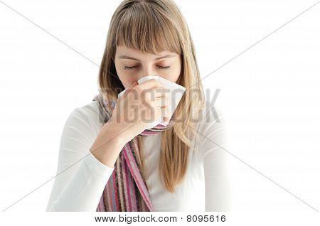Mulher doente