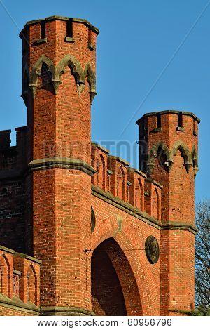 Rossgarten Gate - Fortress Of Koenigsberg. Kaliningrad (former Konigsberg), Russia