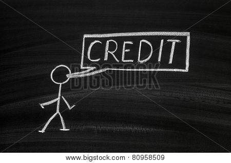 Pegman And Credit