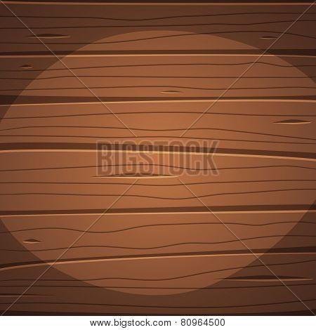 Cartoon wooden surface