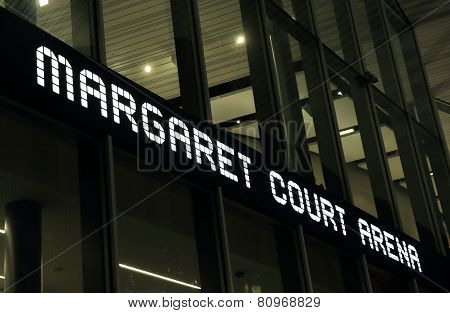 Margaret Court Arene Tennis