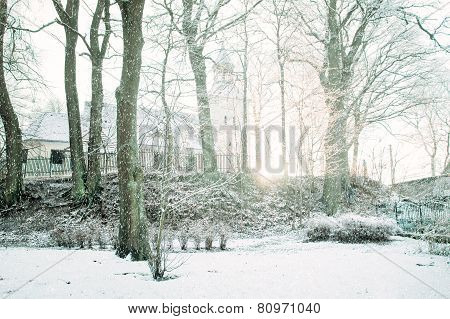 Winter And Snow Conceputal Image.