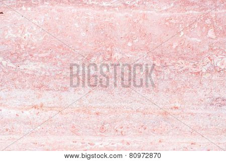 Red Pink Marble Patterned Texture Background (natural Color)