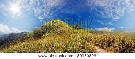 Mountain In Thailand Beutiful Scenic
