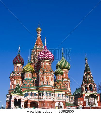 Moscow, St. Basil's (intersession) Cathedral