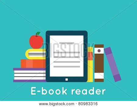 E-book Reader And Modern Education By Technology