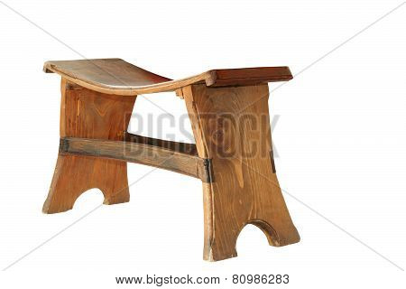 Wooden Traditional Small Seat