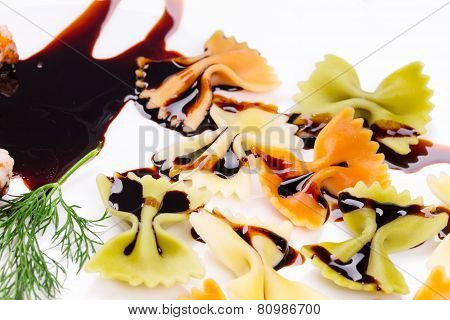 pasta with soy sauce