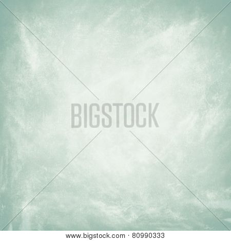 Grunge pale blue background