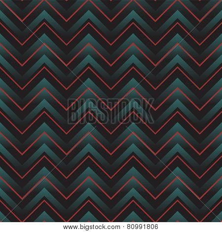 geometric seamless pattern with zigzag. eps8