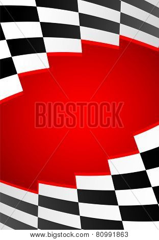 red racing background. eps8