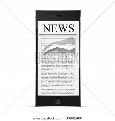 news on phone display
