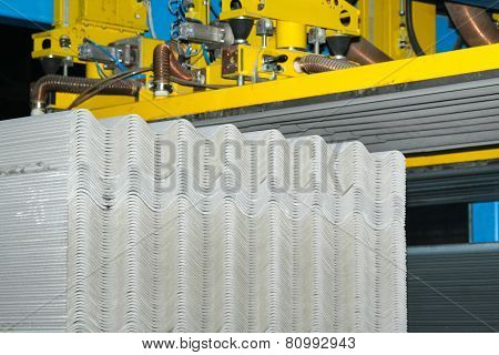 Production Slate Asbestos Material