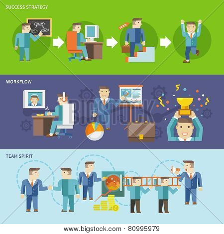 Businessman Working Set