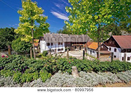Historic Rive Mills Of Rastoke Village