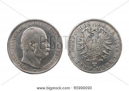 Five Mark Of German Reich