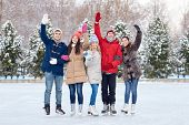 stock photo of waving  - people - JPG