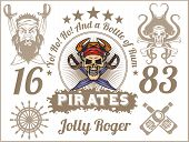 pic of pirate sword  - Jolly Roger  - JPG