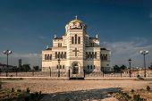 foto of sevastopol  - Building of the main Orthodox Cathedral Sevastopol St - JPG