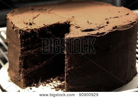 Java River Chocolate Cake