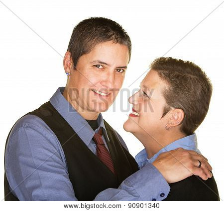 Cheerful Gay Couple