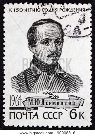Postage Stamp Russia 1964 Mikhail Yuryevich Lermontov, Poet