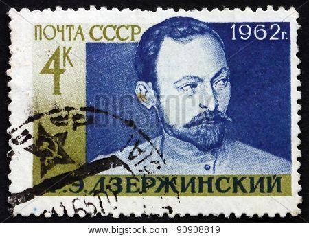 Postage Stamp Russia 1962 Feliks Edmundovich Dzerzhinski