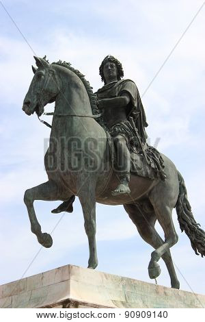Bronze Statue Of Louis Xiv
