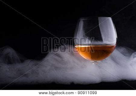 Cognac In Glass