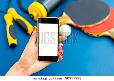 Sport phone application