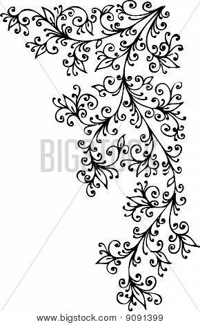 Baroque Pattern Vignette XCIII