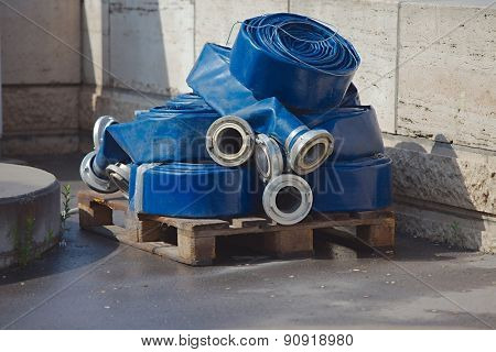 Water hoses unused extension parts