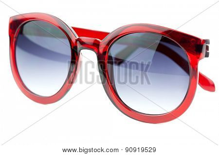 Modern Sunglasses isolated on white background