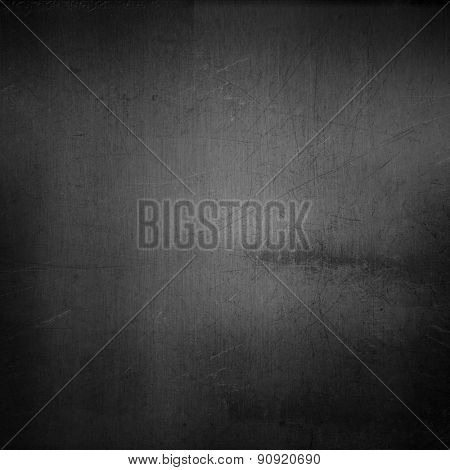 Metallic background with scratched grunge effect