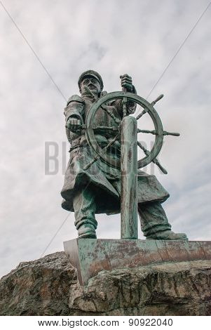 Moelfre Statue