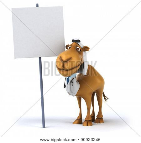 Fun camel