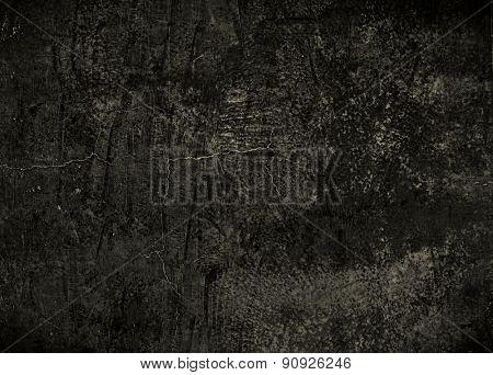 Black grunge texture background