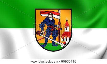 Flag Of Neumarkt Im Hausruckkreis, Austria.
