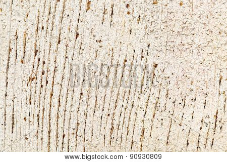 background texture of weathered barn wood with white paint peeling off