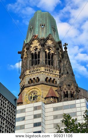Gedachtniskirche in Berlin, Germany.