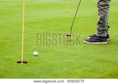 Putting Green Practice
