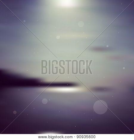 Seaside Blurred Background